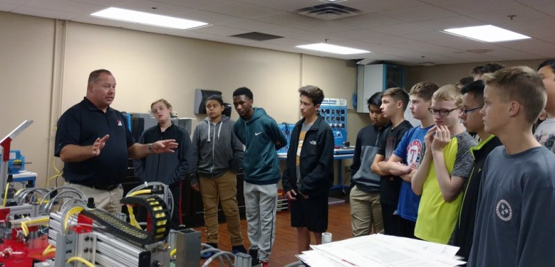 Nearly 300 RCS students tour various industry sites through Chamber partnership