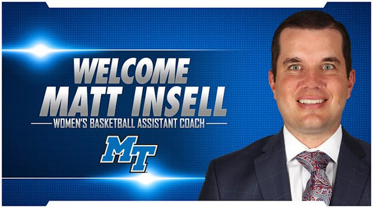 Matt Insell Hired as Lady Raider Assistant