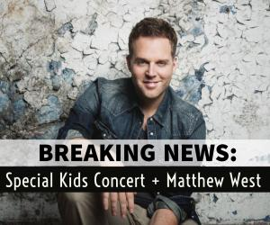 September Brings MATTHEW WEST To Murfreesboro!