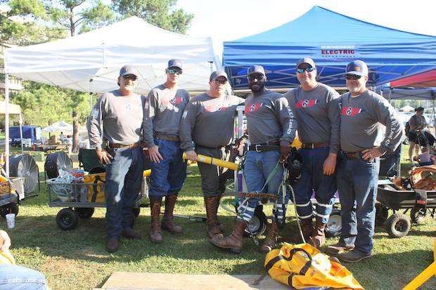 Murfreesboro Electric Represented at Lineman Rodeo | Lineman Rodeo, Murfreesboro Electric, Murfreesboro news, NewsRadio WGNS, Amy Byers