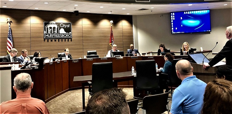 Council Meets 11:30AM Wednesday Re: FY 2020