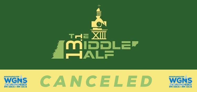 Middle-Half Marathon CANCELED