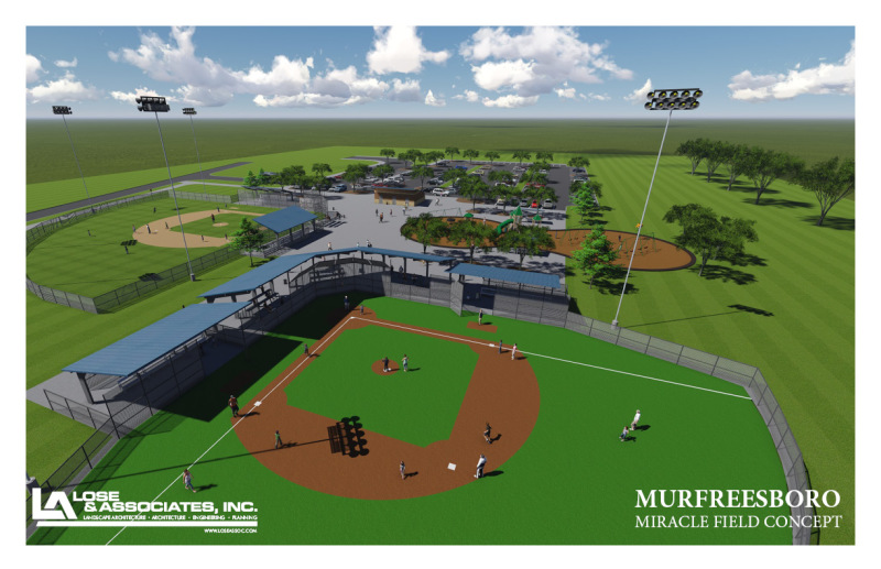 Murfreesboro's Miracle Field is Almost Here
