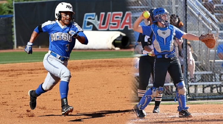 Birdsong and Harris Named Nominees for NCAA Woman of the Year