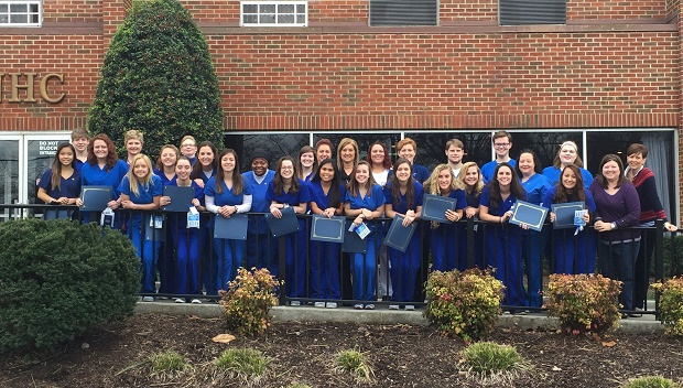 12 Rutherford County high school students complete nursing certification course during winter break