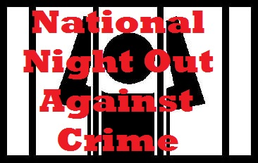 NATIONAL NIGHT OUT:  August 2nd 4-7PM