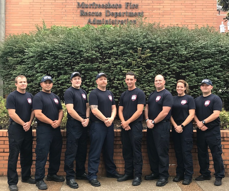 MFRD Welcomes Five Fire Trainees and Three Firefighters