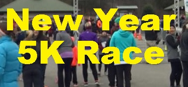 Start The NEW YEAR With A 5K Run!