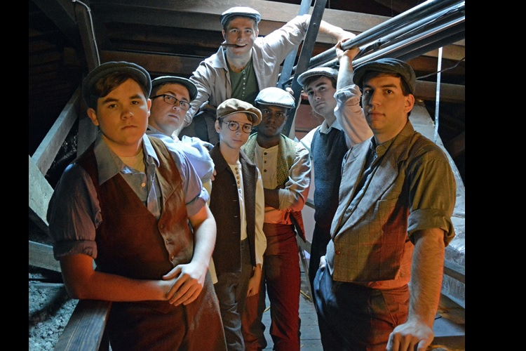 "Extra, Extra--""Newsies"" NOW at Center for the Arts  