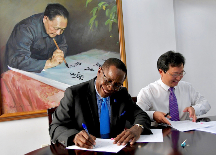 MTSU renews academic partnership with Ningbo University in China