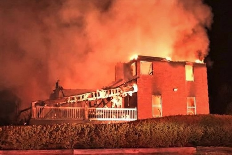 Nolensville Home Burns Saturday Night