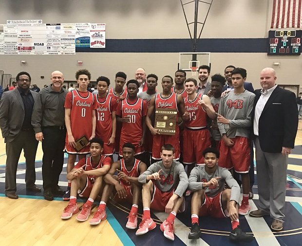 Oakland Boys Claim First Region Title Since 2009