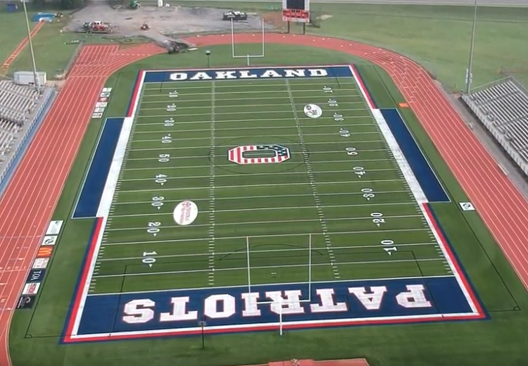 VIDEO: Turfed Ray Hughes Stadium at Oakland to Debut Friday