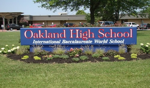 Oakland High Competes