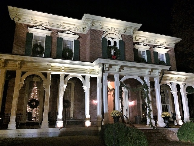 2017 Locations for Candlelight Tour of Homes