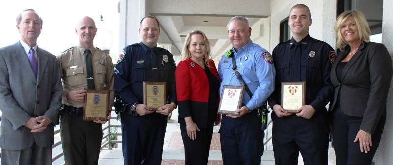 Murfreesboro Noon Exchange Honors Fire and Police | Murfreesboro Noon Exchange Club's Annual Crime and Fire Prevention Awards Luncheon,fire,police,WGNS