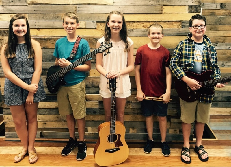 PCA Students Record Song Benefiting Baylor Bramble