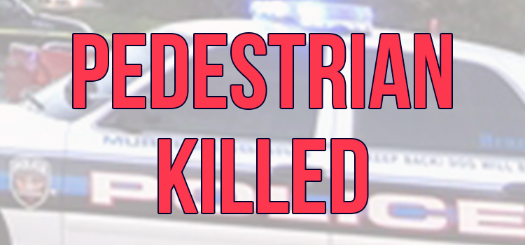 UPDATE on FATAL ACCIDENT: Pedestrian Struck and Killed