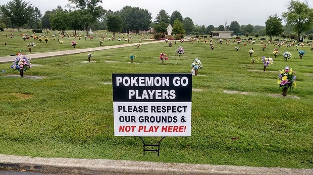 Pokémon Go Players Everywhere in Rutherford County