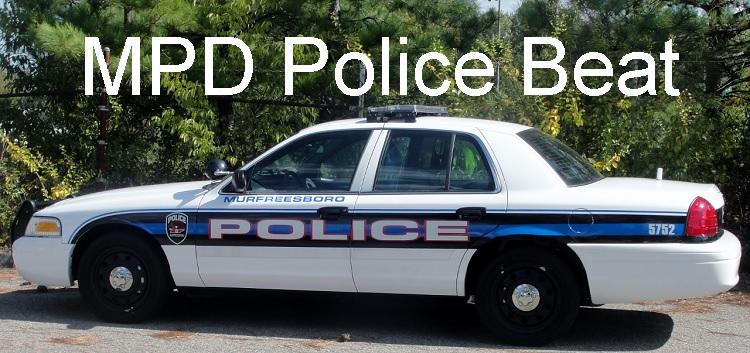 Murfreesboro Police Beat