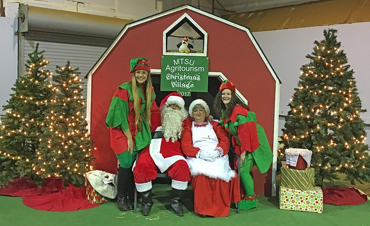 Agritourism class plans Christmas Village at MTSU Dec. 1