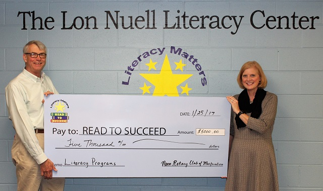 Murfreesboro Rotary Helps Read To Succeed