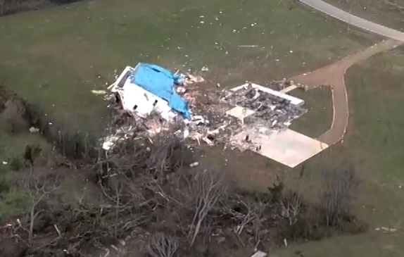 Path of Destruction: RCEMA Video of Christiana Tornado Aftermath