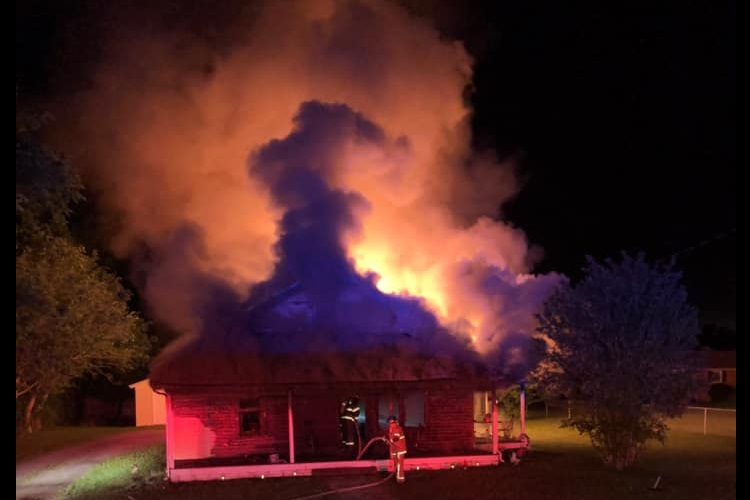 RCFR Battle Blazing Eagleville Home On Highway 99