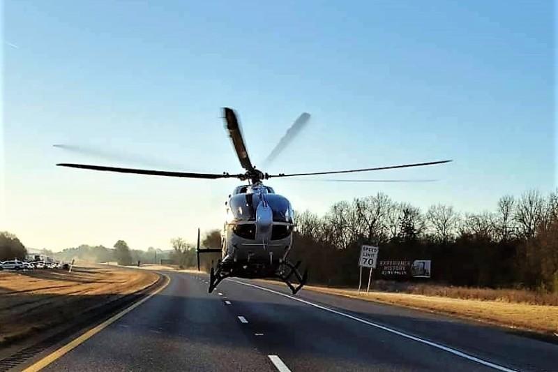 Stopped Pickup On I-24 Causes Multi-Vehicle Crash