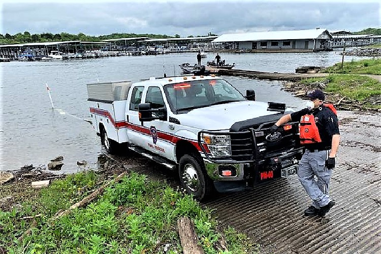 A medical emergency Friday morning on Percy Priest Lake brought quick help to a local fisherman.
