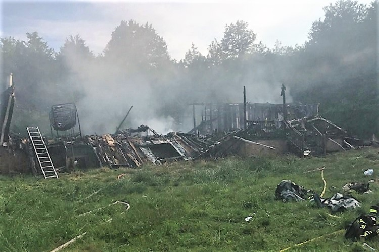 Sunday Afternoon Fire Destroys Browns Chapel Rd. Home