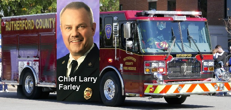 Rutherford County Fire & Rescue $247K Grants | Rutherford County Fire and Rescue, $247K grants, must have Commission approval, Chief Larry Farley, WGNS, Murfreesboro