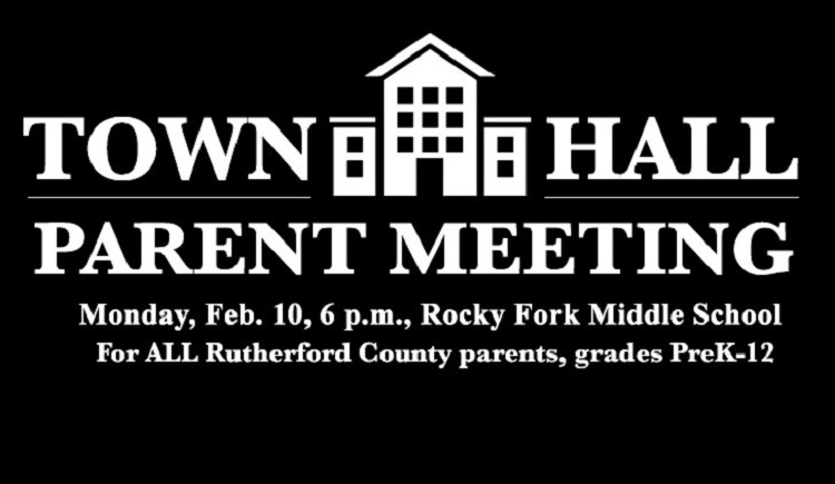County School's TOWN HALL MEETING | RCS, town hall meeting, local parents, Rocky Fork Middle School, Smyrna, WGNS