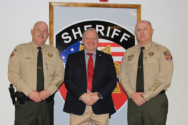 New Temporary Leadership at Rutherford County Sheriff's Office