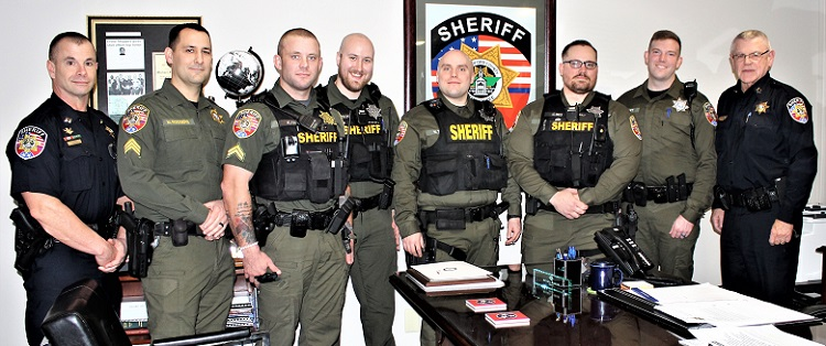 Five Outstanding RCSO Deputies Honored