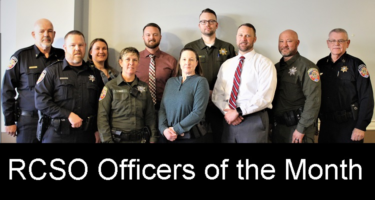 12 Sheriff's Deputies Honored for Service