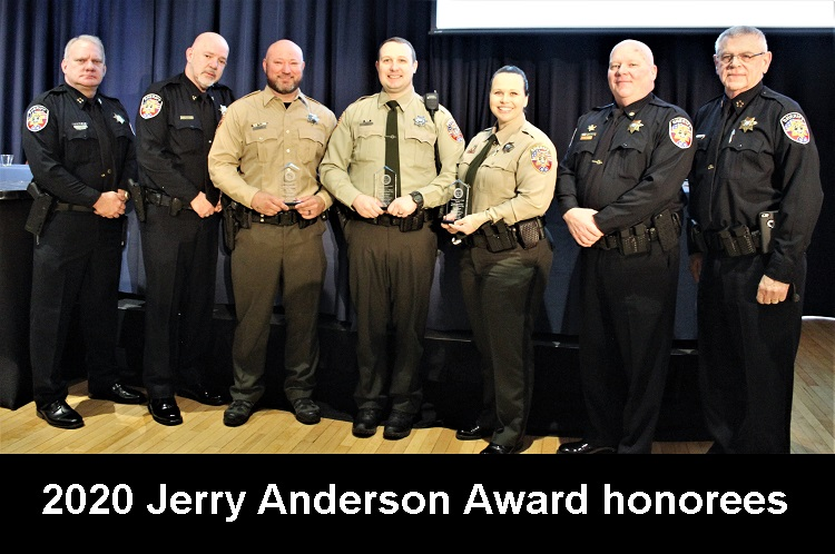The Martin Luther King, Jr. Breakfast was held Saturday morning at MTSU James Union Building. During that event three Rutherford County Sheriff's deputies received the Jerry Anderson Hero Award from the Murfreesboro Branch of the NAACP.