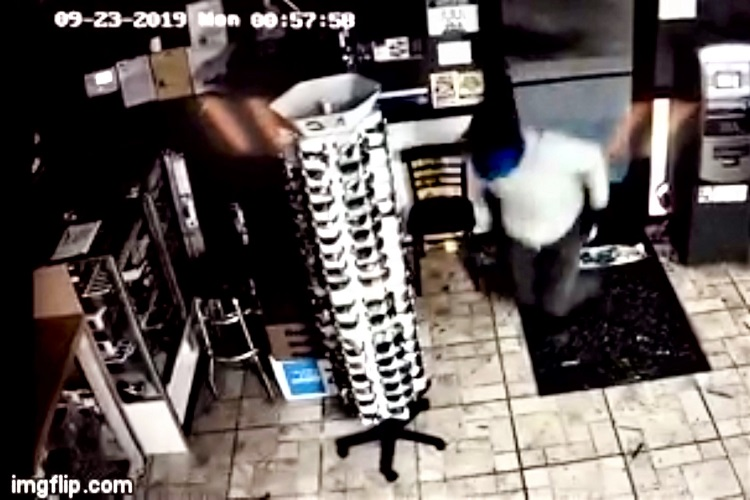 The Rutherford County Sheriffs Office needs the public's help in identifying a suspect who broke into the Last Stop Market located at 6858 Lascassas Pike. Surveillance cameras show the person kicking-in the front door at 1:01AM Monday morning, September 23, 2019.