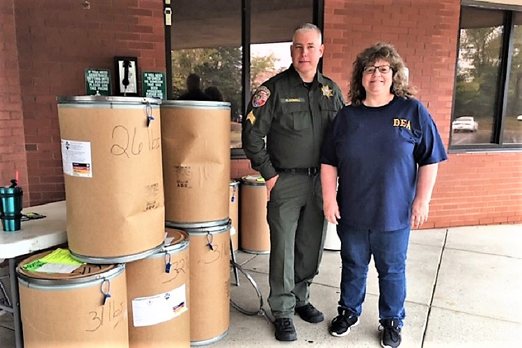Saturday's Drug Take Back Huge Success