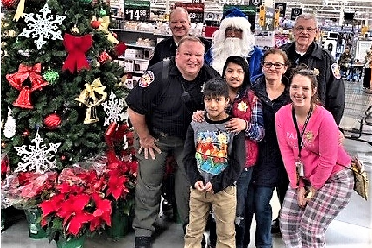 Shop With The Sheriff Brings Huge Smiles