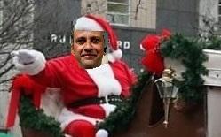 Ho, Ho, Ho Could Be Heard Above City Hall | Santa Ram, Christmas report, Murfreesboro, WGNS