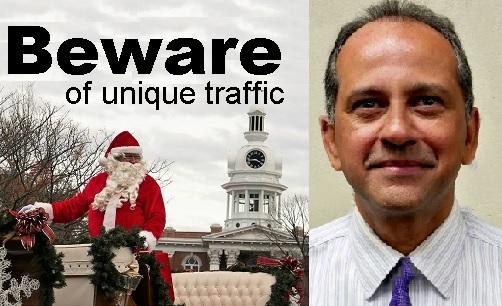 "Ram's Holiday Adventures ""Road Report""   traffic engineer, Murfreesboro, Ram Balachandran, WGNS"