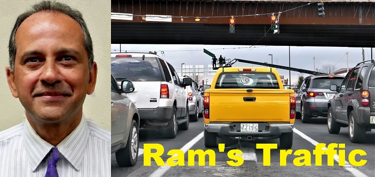Ram Warns Where To Look For Traffic Problems