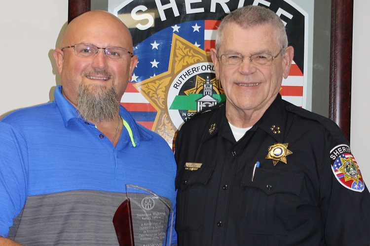 RCSO's Raymond Shew Honored At LifeSavers Conference
