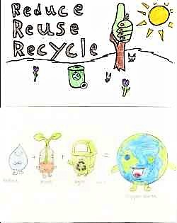 Winners: Recycle Rutherford's Postcard Contest