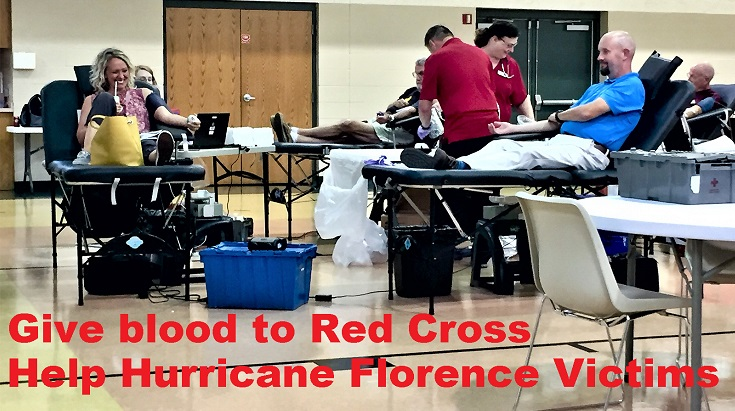 Hurricane Florence Victims Need Red Cross Blood