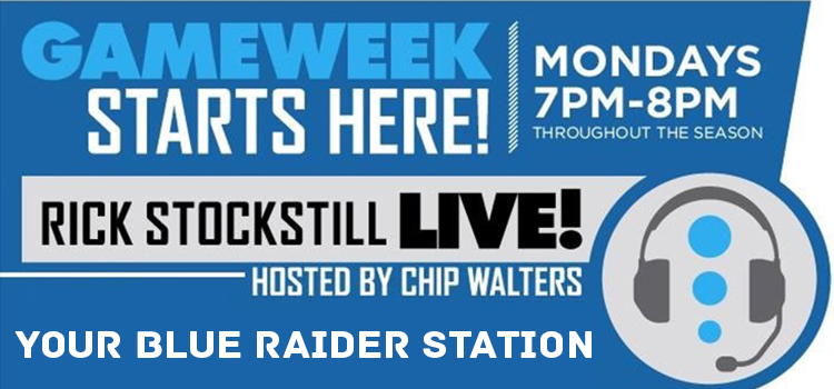 Rick Stockstill Radio Show Begins Monday