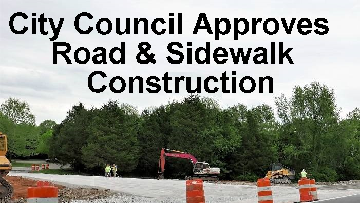 City Council Gives THUMBS UP To Road Improvements