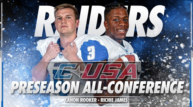 James, Rooker Preseason All C-USA selections