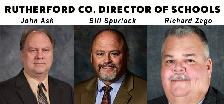 School Board HOLDING OFF on the naming of the next Rutherford Co. Director of Schools until April